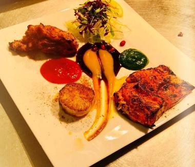 zaika sea food platter